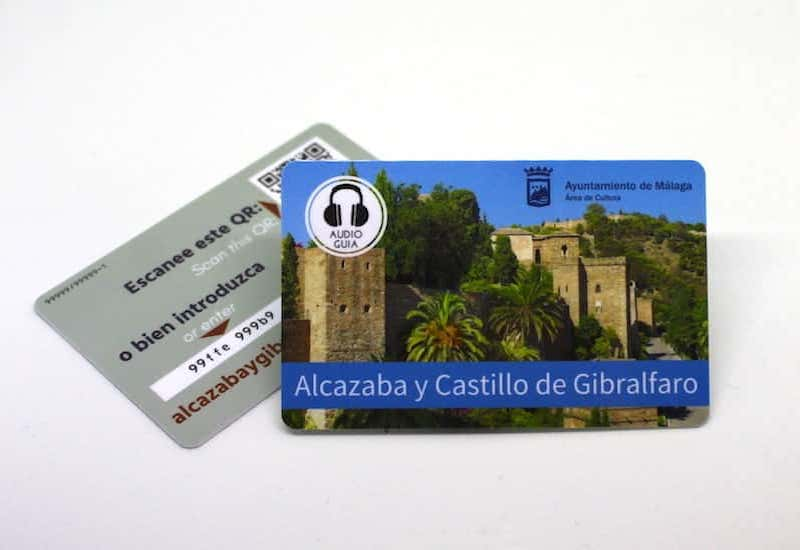 Audioguide for the Alcazaba and Gibralfaro in Málaga