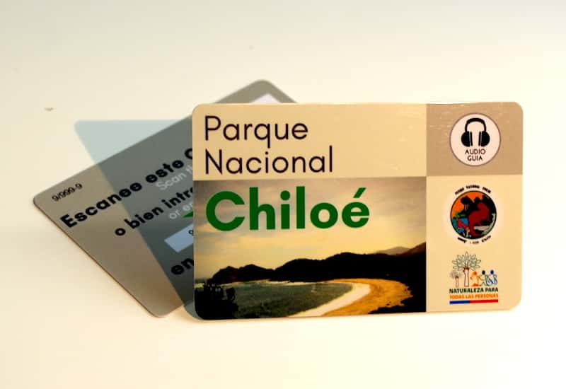 Audioguide for the Natural Park Chiloé, in Chile