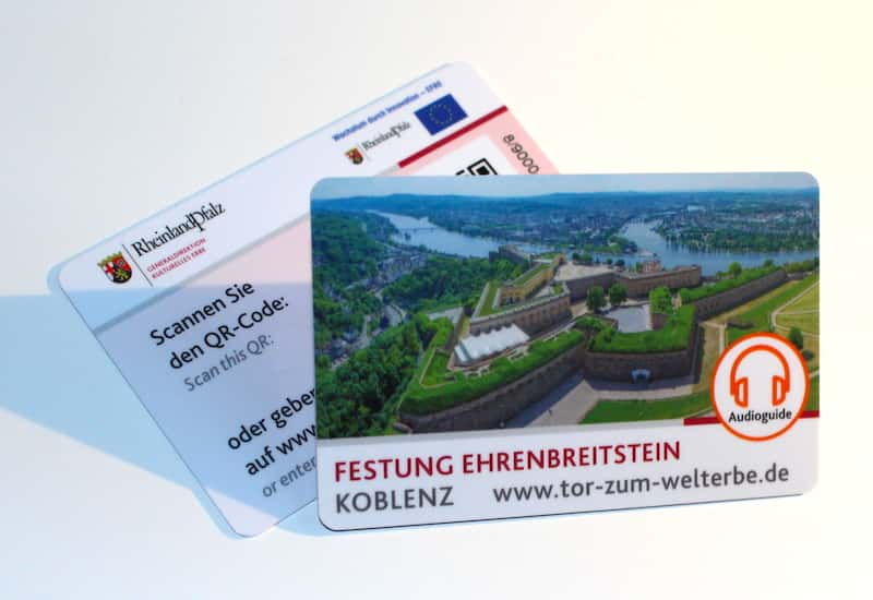 Audioguide for the Fortress Ehrenbreitstein
