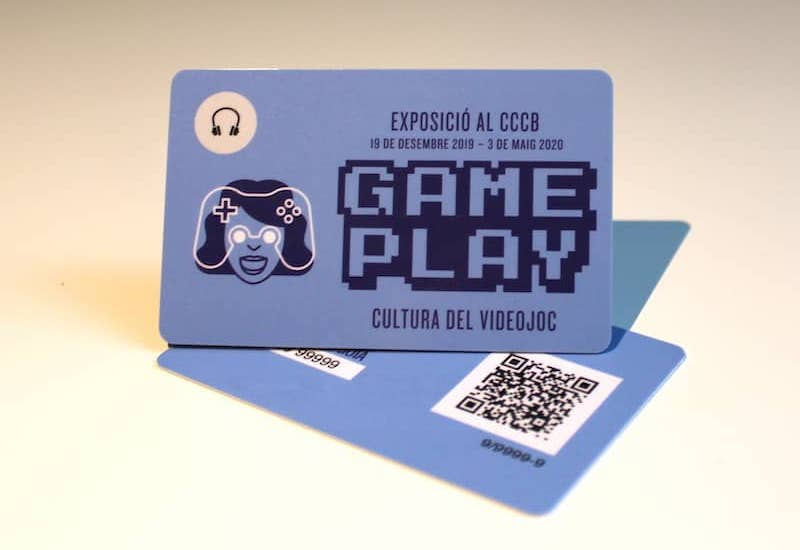 Audio guide to the temporary exhibition Gameplay CCCB (Barcelona)