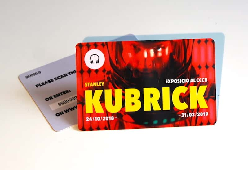 Audioguide for the Special Exhibition Kubrick CCCB (Barcelona)