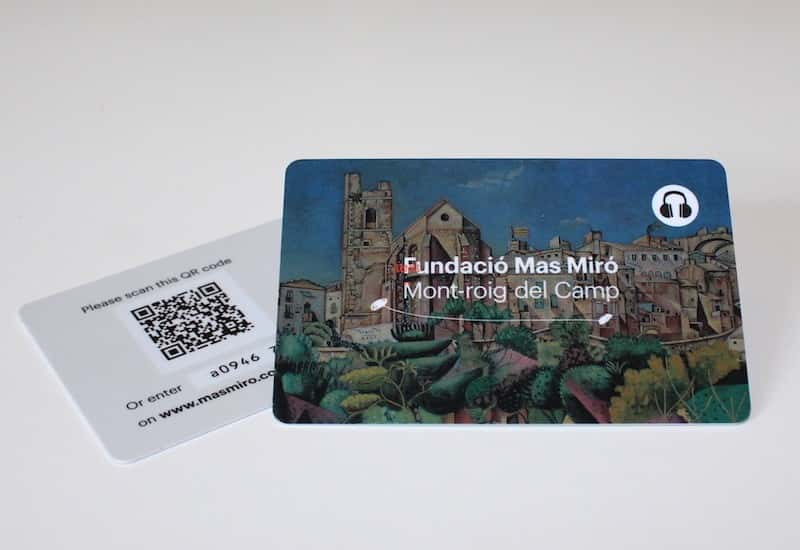 Audioguide for the Temporary Exhibition Mas Miró in Montroig del Camp (Tarragona)