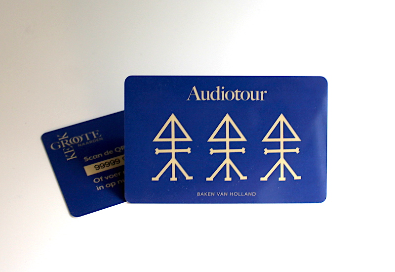Audioguide for Grote Kerk in Naarden, Netherlands