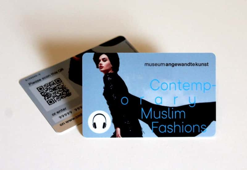 Audioguide for Contemporary Muslim Fashions - Museum Angewandte Kunst Frankfurt
