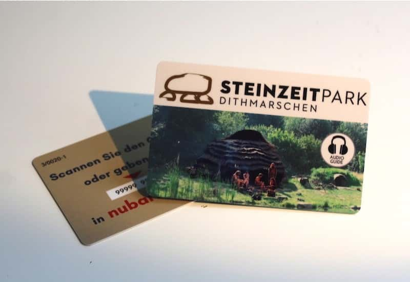 Audioguide in Offline-Mode for the Temporary Exhibition Steinzeitpark Dithmarschen