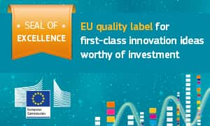 EU Seal of Excellence for Nubart - 2017