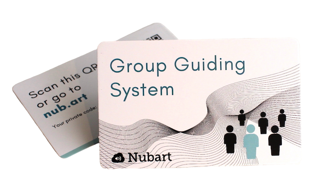 Nubart group guiding system