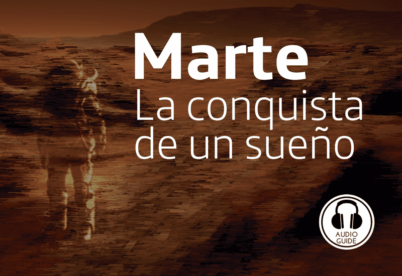 Temporary Exhibition about the planet Mars at Espacio Fundación Telefónica (Madrid)